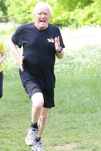 Jim running