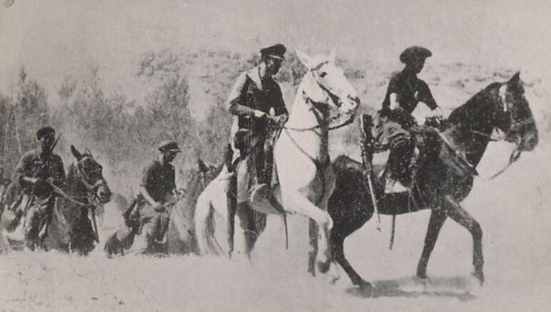 Kawaleria XIII Brygady Międzynarodowej