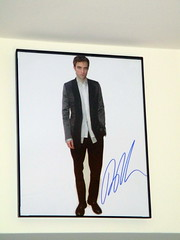 Photo of Robert Pattinson with Long Autograph