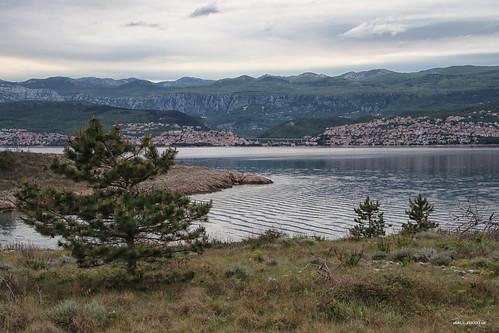 landscape sea scenery land mainland croatia hrvatska europe canon
