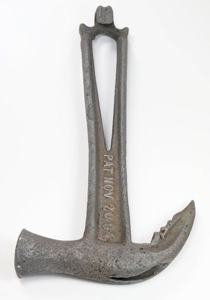 RD29543 Rare 1894 Hammer Wrench Tool JB Hebblethwaite Nail Puller NOV 20 94 DSC03777