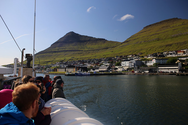 Ferry to Kalsoy
