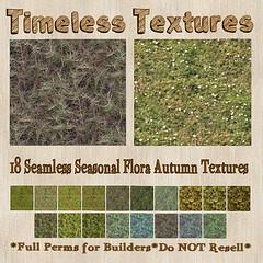 TT 18 Seamless Seasonal Flora Autumn Timeless Textures