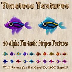 TT 20 Alpha Fin-tastic Stripes Timeless Textures