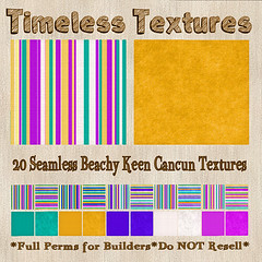 TT 20 Seamless Beachy Keen Cancun Timeless Textures