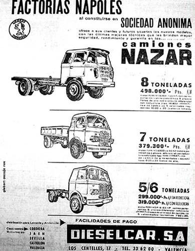 Publicitat Nazar concessionari País Valencià