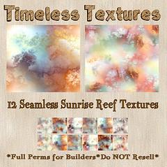 TT 12 Seamless Sunrise Reef Timeless Textures