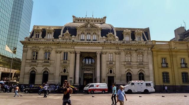 Correo Central (Central Post Office Building) Plaza De Armas, Santiago, Chile