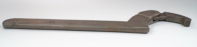 RD26697 Antique BLUE POINT SNAP-ON Adjustable Hook Spanner Wrench AHS 304A DSC03743