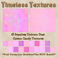 TT 18 Seamless Unicorn Dust Cotton Candy Timeless Textures