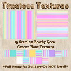 TT 15 Seamless Beachy Keen Cancun Haze Timeless Textures