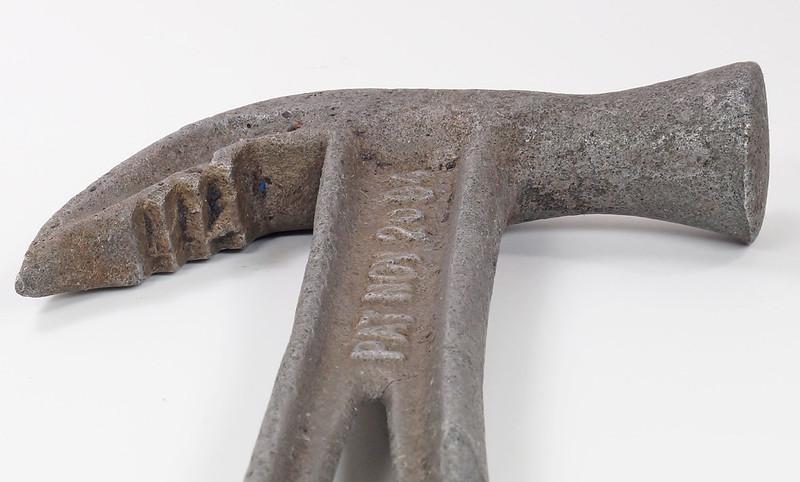 RD29543 Rare 1894 Hammer Wrench Tool JB Hebblethwaite Nail Puller NOV 20 94 DSC03775