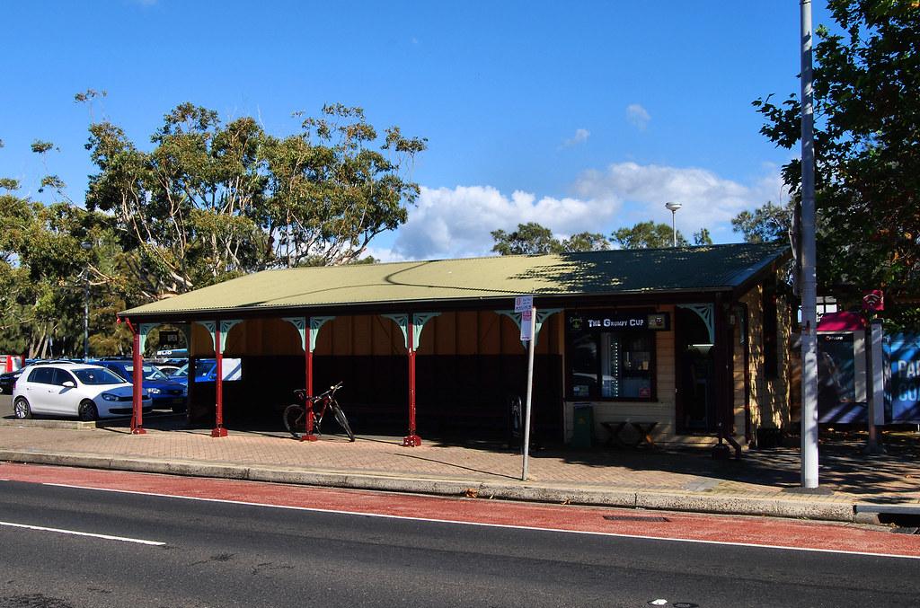 Former Tram Shelter, Narrabeen, Sydney, NSW.