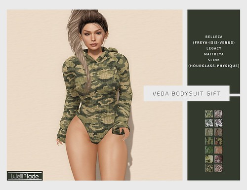 [WellMade] Veda Bodysuit - Group Gift