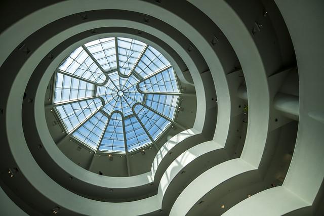 Guggenheim Interior - Manhattan, New York City, New York, USA