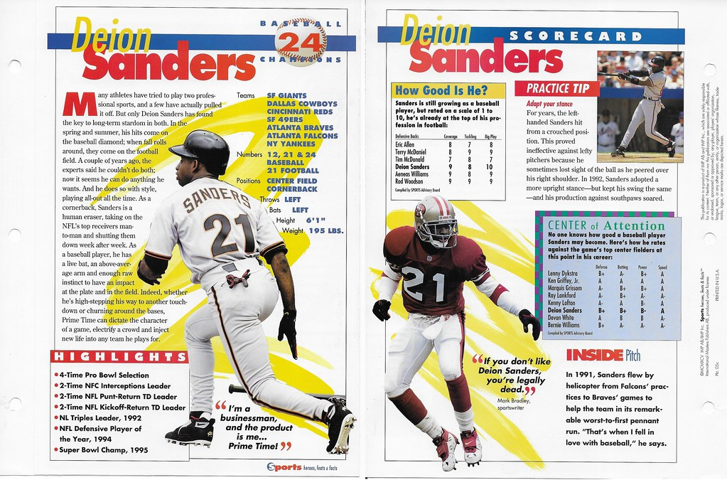 1995 deion sanders baseball 05c