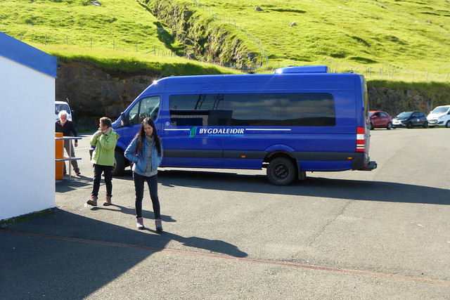 Bus on Kalsoy