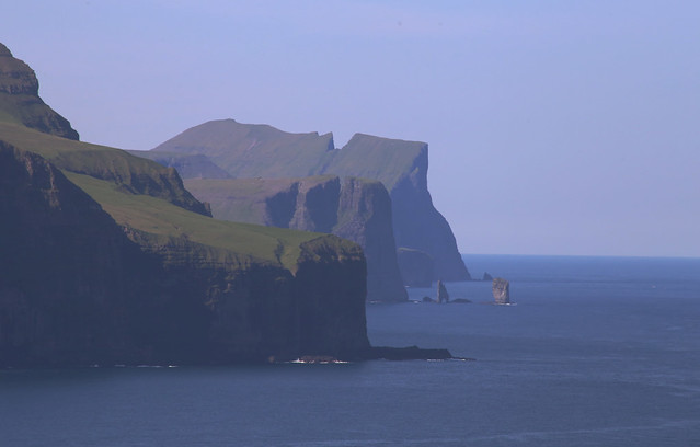 View from Trøllanes, Kalsoy