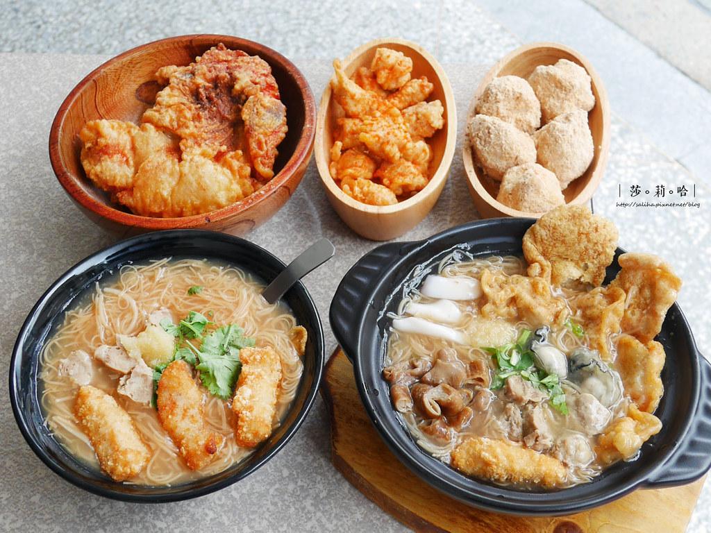 台北萬華人氣必吃美食推薦賴桑透抽蚵仔麵線料滿實在 (3)
