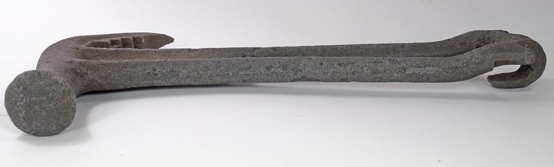 RD29543 Rare 1894 Hammer Wrench Tool JB Hebblethwaite Nail Puller NOV 20 94 DSC03772