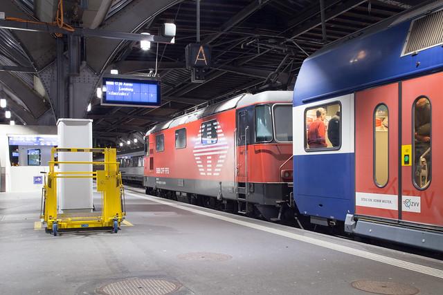 SBB LION Re 4/4 420 217 Zürich Hbf