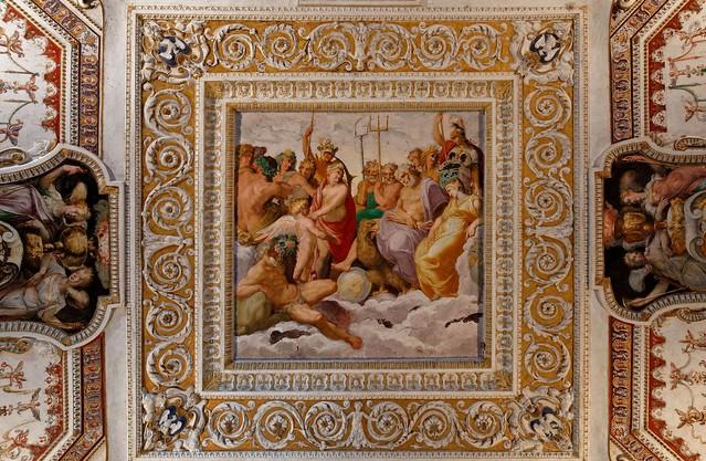 Villa d'Este - Tivoli / Ceiling Painting 6/6