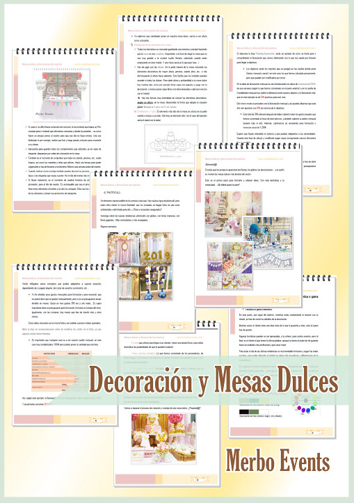 Workshop Decoración y Mesas dulces Merbo Events