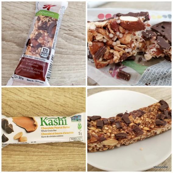 Special K and Kashi granola bars
