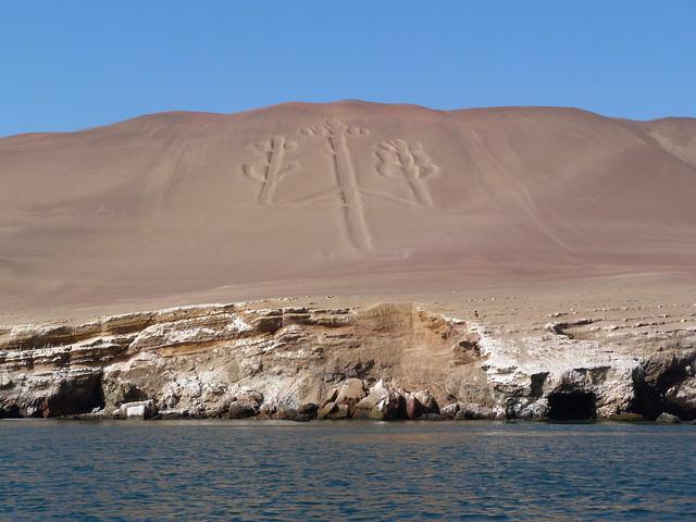 El Candelabro (Paracas, Perú)