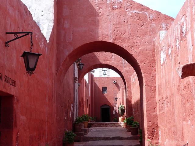 Convento de Santa Catalina en Arequipa (Perú)
