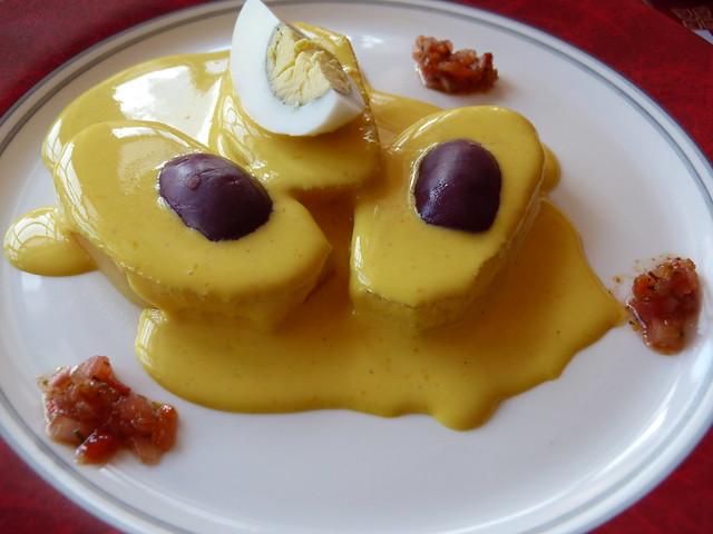 Plato de la gastronomía peruana
