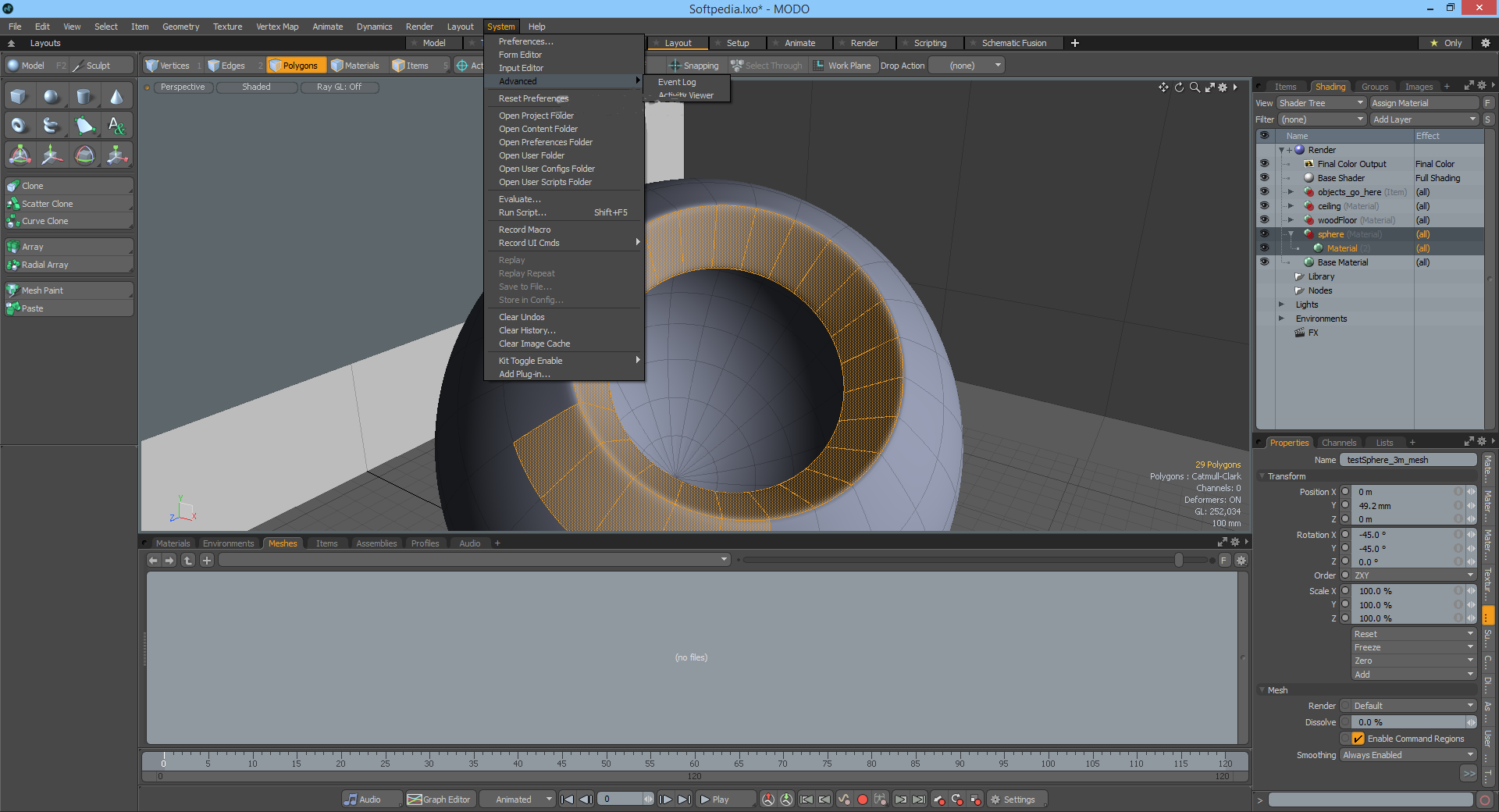 Working with The Foundry Modo 14.0v1 full license