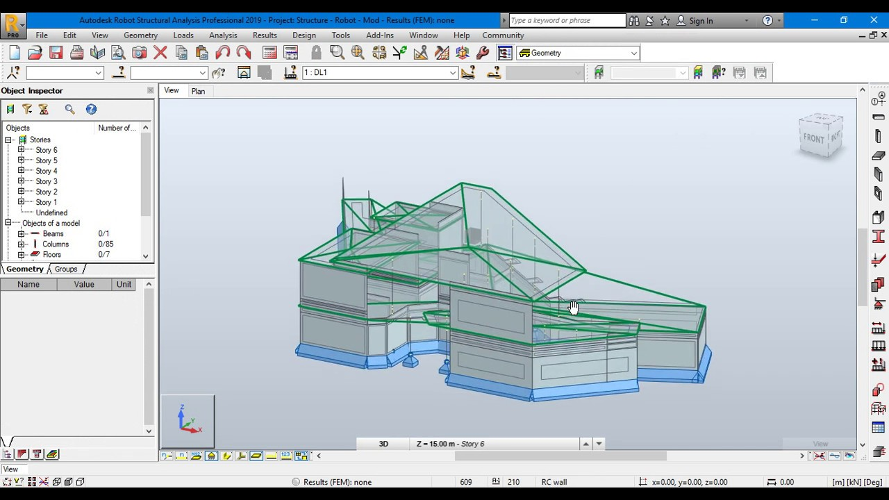 Working with Autodesk Robot Structural Analysis Professional 2019 full license