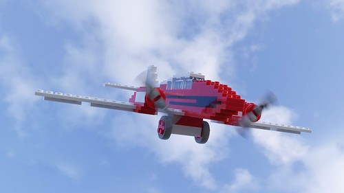320 Airplane in motion