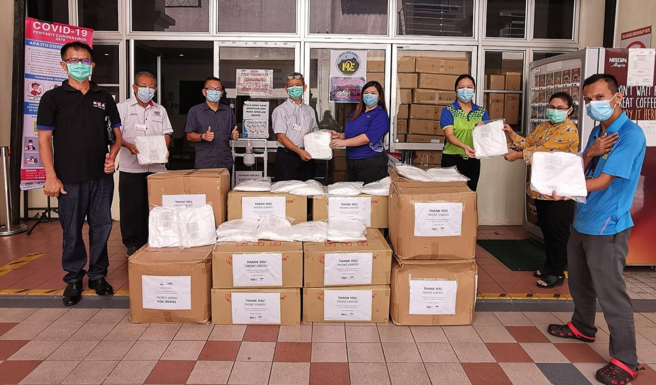 Shipping firms donate PPE to hospitals