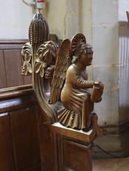 Winged messenger of St Matthew (19th Century)