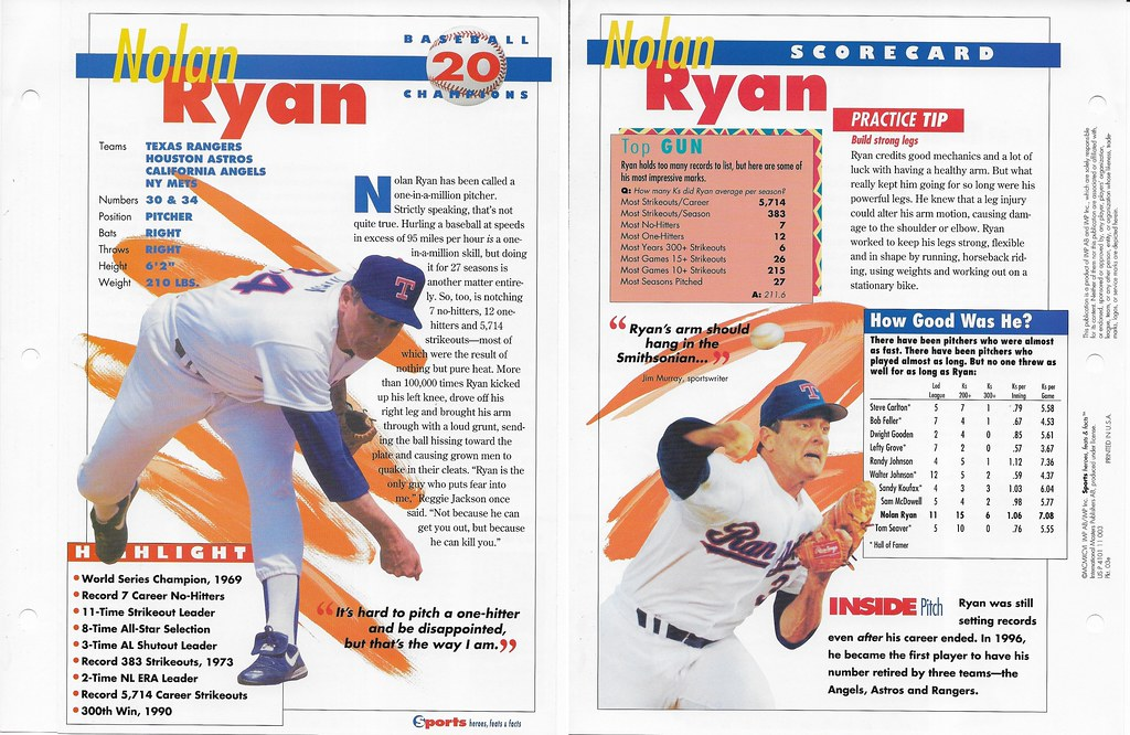 1996 nolan ryan baseball 03e