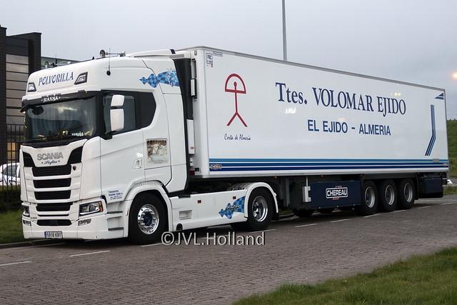 Scania S500 V8  E  POLVORILLA  'Ttes. Volomar Ejido' 200414-004-C5 ©JVL.Holland
