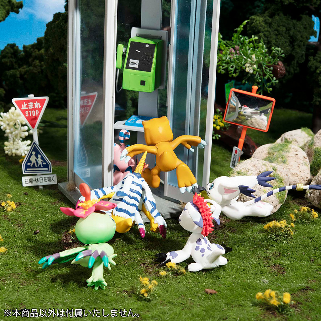 被選召的孩子們又回來啦~Megahouse《數碼寶貝大冒險:》數碼寶貝MIX  盒玩(デジモンアドベンチャー デジコレ! MIX)全八款