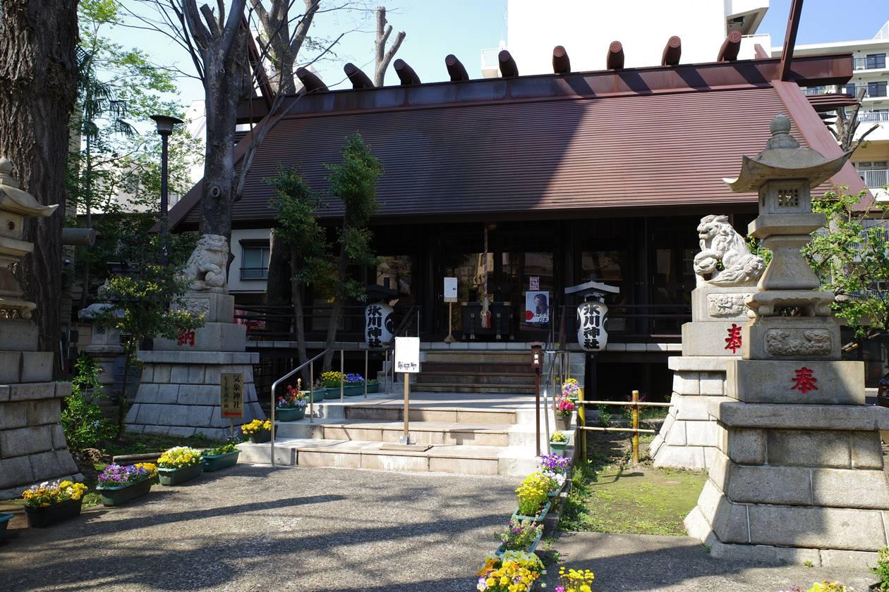 氷川神社・社殿