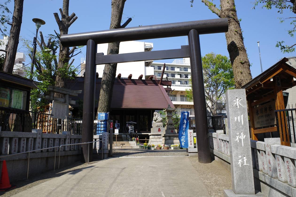 高円寺・氷川神社
