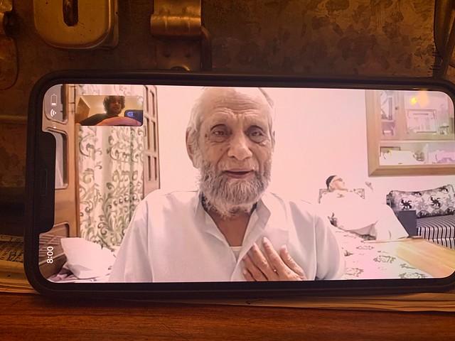 City Moment - Poet Ameer Delhi's Post-Pacemaker Life, Chawri Bazar