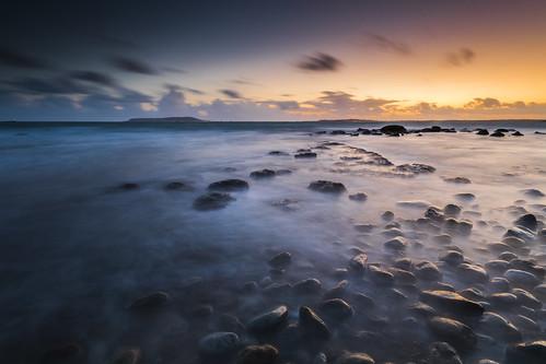 osmingtonbay dorset england uk seascape jurassiccoast sunset longexposure rocks canon 80d sigma 1020mm leefilters