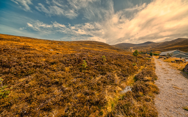 Cairngorm Mountains.