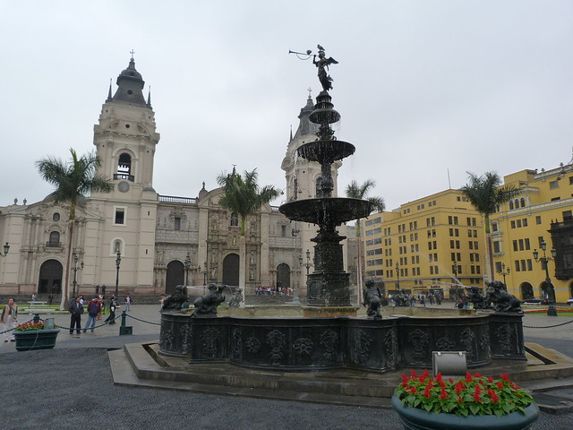 Plaza Mayor de Lima (Perú)