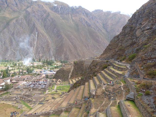 Ollantaytambo (Valle Sagrado de Perú)