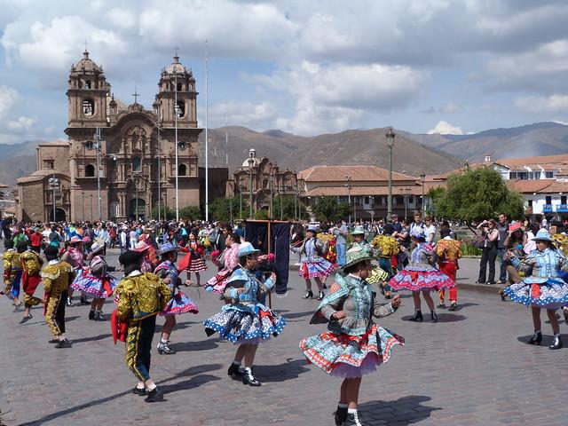 Plaza de Armas de Cuzco (Perú)