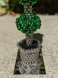 Triple Ball Shaped Topiary Tree