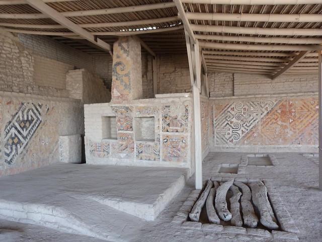 Lugar donde fue hallada la Dama de Cao (Perú)