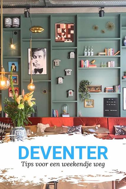 Weekendje Deventer, bezienswaardigheden Deventer: tips (foto met dank aan Hotel FINCH) | Mooistestedentrips.nl
